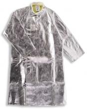 Ochranný plášť pre zlievačov pokovovaný teplu odolný AC 480/Abz suchý zips 1300 mm