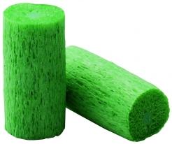 Ochranné ušné upchávky Howard Leight MATRIX valček balené jednotlivo v sáčku zelené