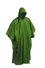 Pončo PVC veľké pevná kapucňa zelené