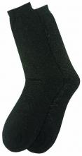 Ponožky tenké bavlna/polyamid čierne veľkosť 41 - 42