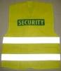 Vesta SECURITY modrá potlač výstražná žltá veľkosť L-XL