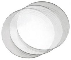 Sklo krycí okrúhle priemer 50 mm pre zváračské okuliare číre