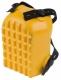 Nákolenník CXS PATI vaničkový vonkajše protišmykové ryhovanie penová guma upevnenie na 2 pásky žltý
