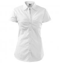 Blúzka Chic dámska krátky rukáv biela veľkosť XL
