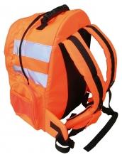 Batoh Hi-Vis Quick Release výstražné pruhy svietivo oranžový