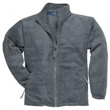 Mikina ARGYL HEAVY fleece zapínanie na zips sivá veľkosť XL