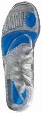 Vložka do obuvi gélová komfortná na pohltenie nárazov sivá veľkosť M 40-44
