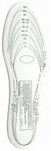 Vložka do obuvi penová EVA ergonomicky tvarovaná biela upraviteľná veľkosť
