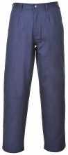 Nohavice BIZFLAME PRO do pása antistatické nehorľavé tmavomodré veľkosť XL