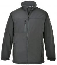 Softshellová bunda TECHNIK TK 50 sivá veľkosť XL