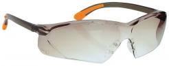 Okuliare FOSSA pretiahnutý priezor športový rámik šnúrka na zavesenie tónované