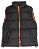 Vesta SEATTLE brúsený polyester zateplená čierno/oranžová veľkosť XL