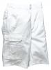 Montérkové krátke nohavice BOLTON PAINTERS biele veľkosť XL