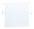 Zástera PW Gastro Klasik Hope Kingsmill do pása PES/bavlna zaväzovanie na šnúrky 71 x 76 cm biela