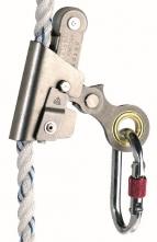 Zachycovač pádu ASCORD posuvná otvárateľná kovová lanová brzda