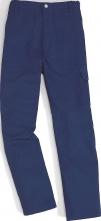 Ochranné nohavice MAIAO do pása nehorľavé tmavomodré veľkosť M