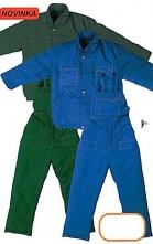 Montérková bunda MACH WINTER zateplená zelená veľkosť XL