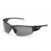 Okuliare UVEX Polavision® HC/HC straničky čierno/biele ochrana proti UV 400 polarizačný filter nepoškriabateľné sivé