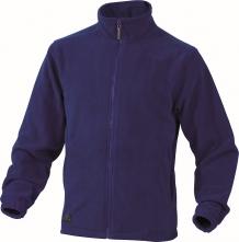 Mikina Delta Plus VERNON polar fleece zapínanie na zips kráľovská modrá