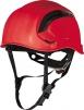 Ochranná priemyselná prilba Granite Wind ventilácia lezecká račňa vysoko viditeľná červená
