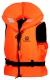 Záchranná plávacia vesta BUOYANCY vztlak 100 N univerzálna 3M reflexné pruhy pre osoby s hmotnosťou 70 - 90 kg HV oranžová