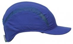 Náhradný poťah na čiapku so škrupinou PROTECTOR FB3 CLASIC skrátená dĺžka šiltu kráľovská modrá