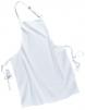 Zástera s náprsenkou Gastro Klasik bavlna 72 x 95 cm biela