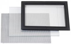 Ochranné vonkajšie sklo na zorník kukly pre vrhača Honeywell ZGH - COMMANDER II číre