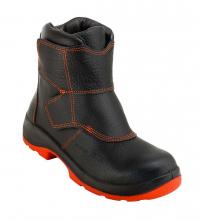 Zlievačská obuv VOLCA S3 HI-3 HRO WG SRC kompozitné bezpečnostné prvky čierno/oranžová veľkosť 45